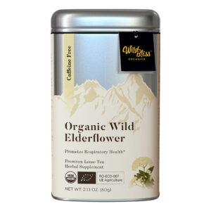 Elderberry flower wild organic tea