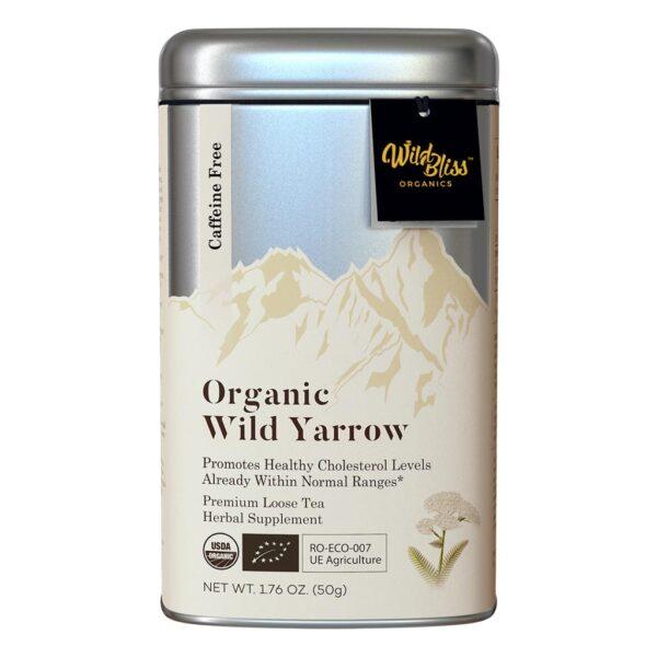 Yarrow wild organic tea