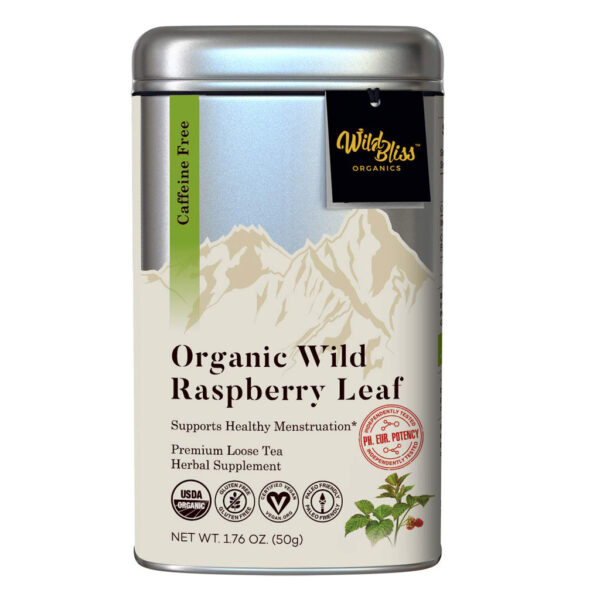 Red Raspberry Leaf wild organic tea